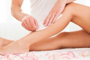 מכון שינילה הרגעת העור לאחר טיפול שעווה